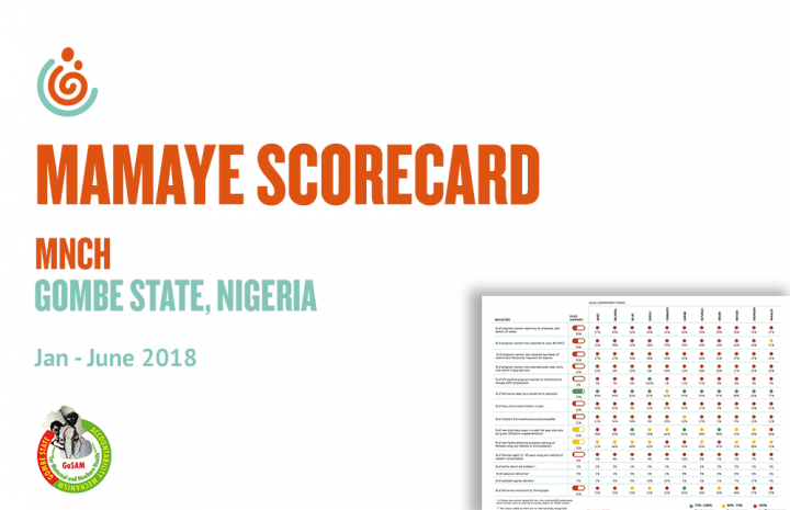 GOMBE STATE MNCH SCORECARD JAN-JUNE 2018
