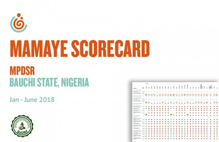 BAUCHI STATE HEALTH FACILITY MPDSR SCORECARD JAN-JUNE 2018